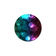 Deep Bubble Art Golf Ball Marker 10 Pack