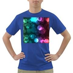 Deep Bubble Art Men s T Shirt (colored)