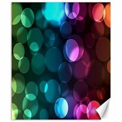 Deep Bubble Art Canvas 8  x 10  (Unframed)