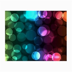 Deep Bubble Art Glasses Cloth (small, Two Sided)
