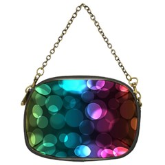 Deep Bubble Art Chain Purse (two Sided)