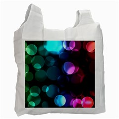 Deep Bubble Art Recycle Bag (two Sides)