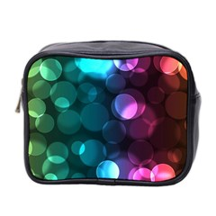 Deep Bubble Art Mini Travel Toiletry Bag (Two Sides)