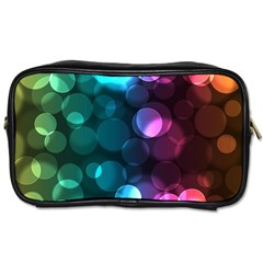 Deep Bubble Art Travel Toiletry Bag (one Side)