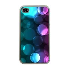 Deep Bubble Art Apple iPhone 4 Case (Clear)