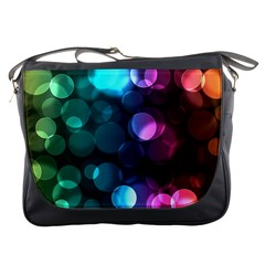 Deep Bubble Art Messenger Bag