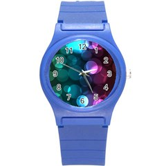 Deep Bubble Art Plastic Sport Watch (Small)