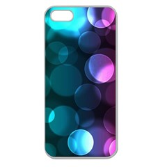 Deep Bubble Art Apple Seamless iPhone 5 Case (Clear)