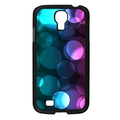 Deep Bubble Art Samsung Galaxy S4 I9500/ I9505 Case (black)