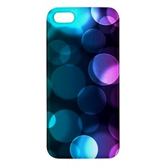 Deep Bubble Art iPhone 5S Premium Hardshell Case