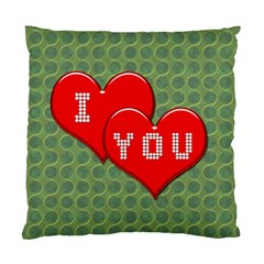 Hearts 2 Cushion Case (Two Sided)