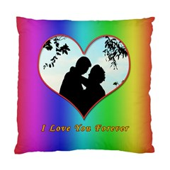 I Love You Forever Cushion Case (Two Sided)