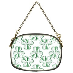 Shamrock Chain Purse (Two Sided)