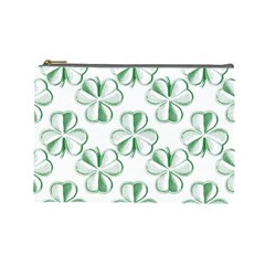 Shamrock Cosmetic Bag (Large)