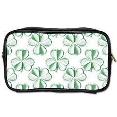 Shamrock Travel Toiletry Bag (Two Sides)