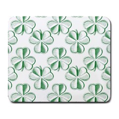 Shamrock Large Mouse Pad (Rectangle)