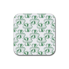 Shamrock Drink Coasters 4 Pack (Square)