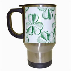 Shamrock Travel Mug (White)