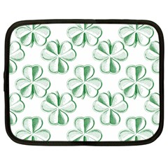 Shamrock Netbook Sleeve (Large)
