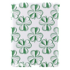 Shamrock Apple iPad 3/4 Hardshell Case (Compatible with Smart Cover)