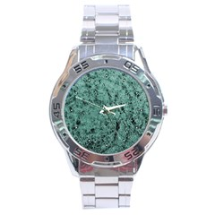 Marble Stainless Steel Analogue Men's Watch