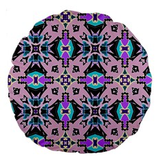 Violet Dream 18  Premium Round Cushion