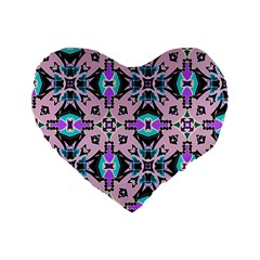 Violet Dream 16  Premium Heart Shape Cushion
