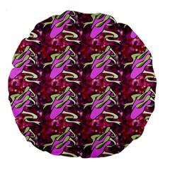 Ballerina Slippers 18  Premium Round Cushion
