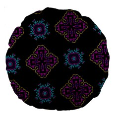 Black Beauty 18  Premium Round Cushion