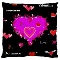 Valentine Large Cushion Case (two Sided)