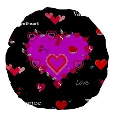 Valentine 18  Premium Round Cushion