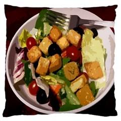 Salad Large Cushion Case (Single Sided)