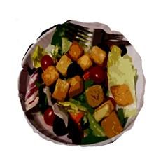 Salad 15  Premium Round Cushion