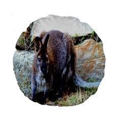 Kangaroo 15  Premium Round Cushion