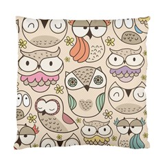 Owl pattern Cushion Case (Two Sided)