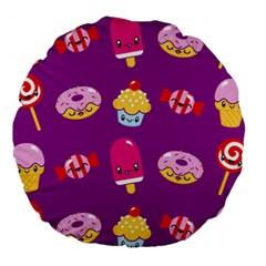 Sweet Dreams 18  Premium Round Cushion