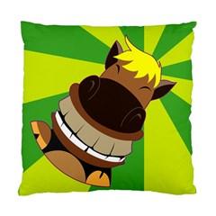Mr.Horse Cushion Case (Single Sided)