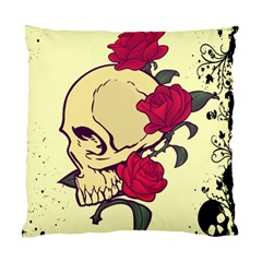 Death Skeleton Cushion Case (two Sided)