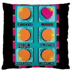 love bottom  Large Cushion Case (Two Sided)