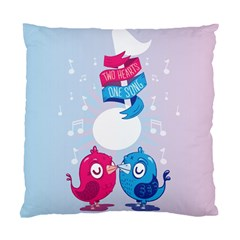 Love Birds Cushion Case (Two Sided)