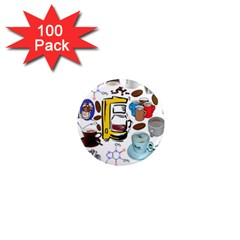 Just Bring Me Coffee 1  Mini Button Magnet (100 Pack)