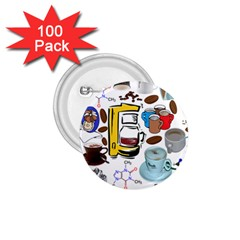 Just Bring Me Coffee 1.75  Button (100 pack)