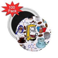 Just Bring Me Coffee 2.25  Button Magnet (100 pack)