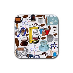 Just Bring Me Coffee Drink Coasters 4 Pack (Square)