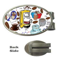Just Bring Me Coffee Money Clip (Oval)