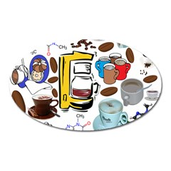 Just Bring Me Coffee Magnet (Oval)