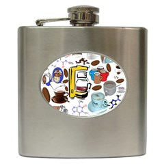 Just Bring Me Coffee Hip Flask