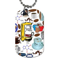 Just Bring Me Coffee Dog Tag (Two-sided)