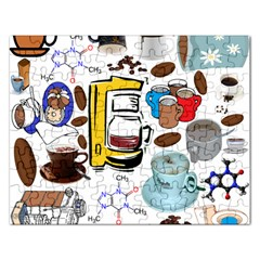 Just Bring Me Coffee Jigsaw Puzzle (rectangle)