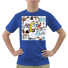 Just Bring Me Coffee Men s T Shirt (colored)